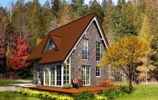 Дом из керамзитобетона спб бой бетона продать