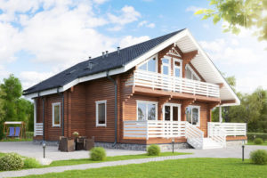 Строительство загородных домов в СПб и лен. области под ключ из клееного, профилированного, двойного бруса проекты фото