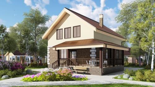 Строительство загородных домов в СПб и лен. области под ключ домов