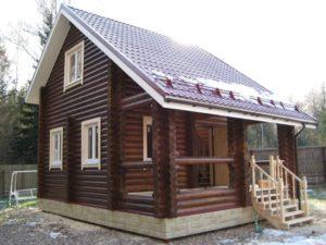 Строительство деревянных загородных домов в СПб и лен. области под ключ