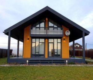Каркасный дом, проекты, цены, строительство каркасника под ключ