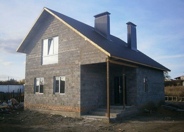 Дом из керамзитобетонных блоков, проекты, цены, строительство